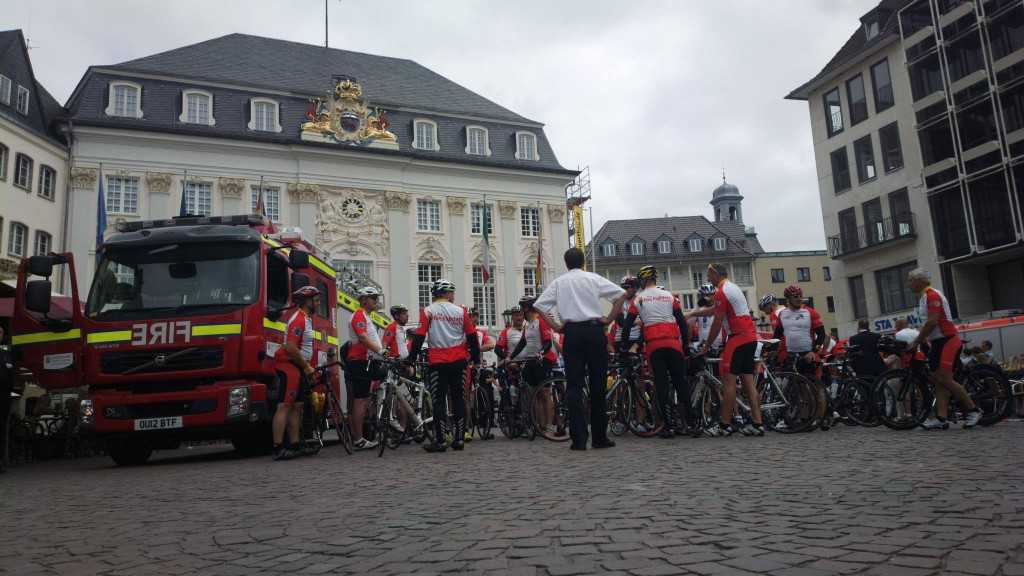 Oxford fire service visits Bonn