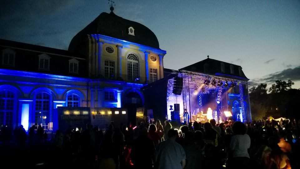 Torchlight concert, Poppelsdorf Schloss