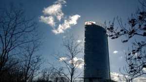 Bonn Post tower, headquarters of DHL.